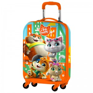 44 Cats ABS trolley suitcase 4 wheels 51cm