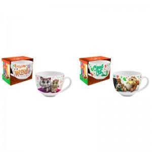 44 Cats assorted jumbo mug