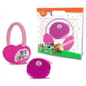 44 Cats hearmuffs + purse set