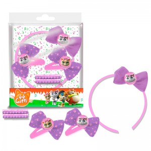 44 Cats hair accessories set