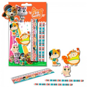 44 Cats stationery set 6pcs