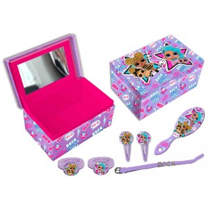 LOL Surprise set jewelleri box + hair accessories