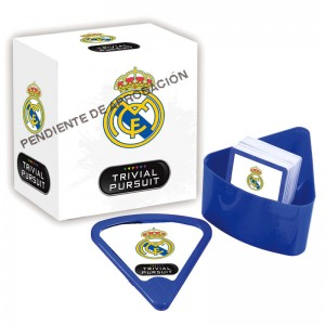 Real Madrid Trivial Pursuit Bite spanish board game