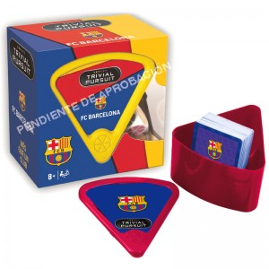 F.C Barcelona Trivial Pursuit Bite spanish board game