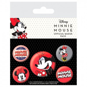 Disney Minnie set 5 badges