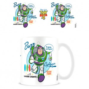 Disney Pixar Toy Story 4 Buzz Lightyear To Infinity and Beyond mug
