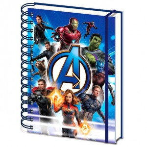 Marvel Avengers Endgame A5 notebook