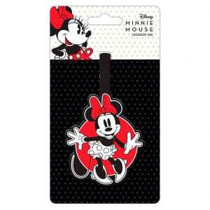 Disney Minnie Mouse baggage tag