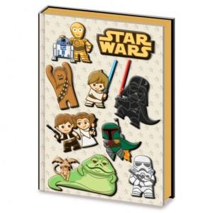 Star Wars Kawaii premium A5 notebook