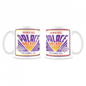 Stranger Things Hawkins Palace Arcade mug