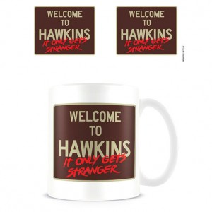Stranger Things Welcome to Hawkins mug