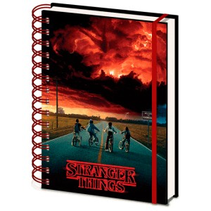 Stranger Things Mind Flayer lenticular A5 notebook