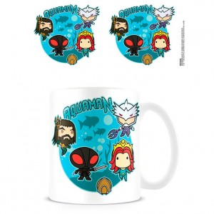 DC Comics Aquaman Bubble Battle mug