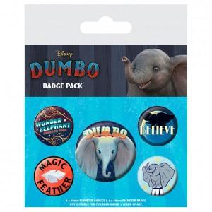 Disney Dumbo set 5 badges