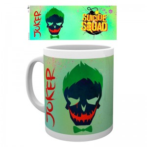 DC Comics Suicide Squad Joker Skull mug