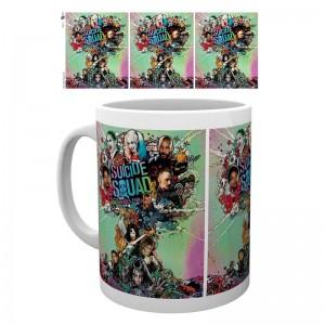 DC Comics Suicide Squad One Sheet mug