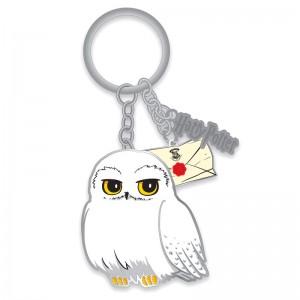 Harry Potter Hedwig keyring