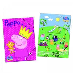 Peppa Pig assorted folder with flaps