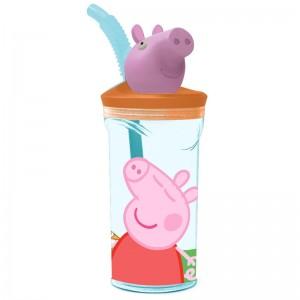 Peppa Pig 3D figurine tumbler
