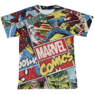 Avengers Marvel mesh t-shirt