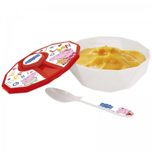 Peppa Pig baby bowl with lid + spoon