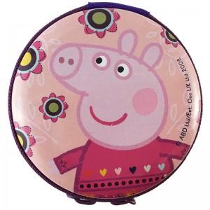 Peppa pig metalic purse