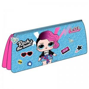LOL Surprise Rockstar triple pencil case
