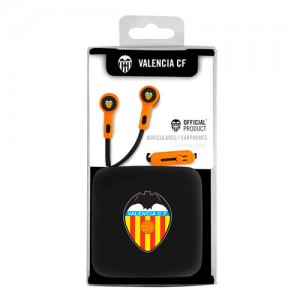 Valencia CF headphones with button and microphone