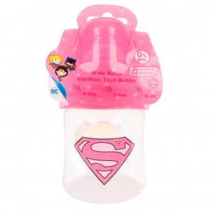 DC Comics Justice League Supergirl baby bottle