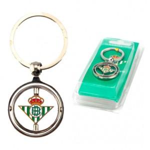 Real Betis rotating key chain