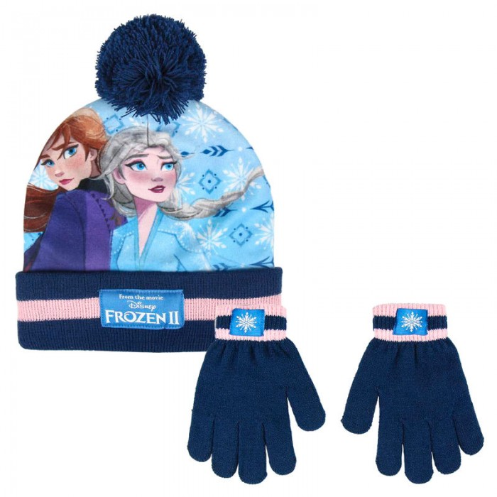 Disney Frozen set hat gloves