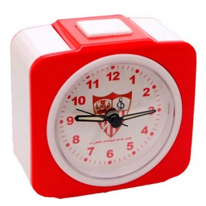 Sevilla CF analogue alarm clock