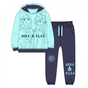 Disney 2 Frozen Elsa & Anna fleece jogging set
