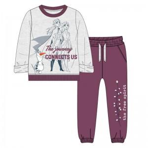 Disney 2 Frozen Elsa & Anna fleece jogging set