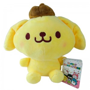 Sanrio Hello Kitty Pompompurin plush toy 23cm