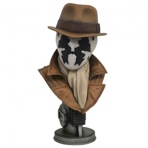 Watchmen Legends in 3D 1/2 Rorschach bust 25cm