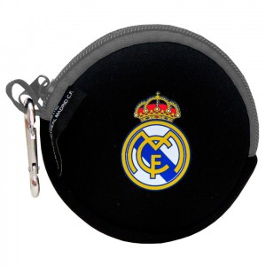 Real Madrid neoprene round coin bag