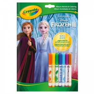 Disney Frozen 2 Activities book