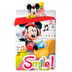 Disney Mickey duvet cover bed