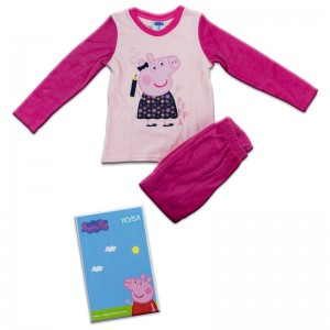 Peppa Pig velvet pijama in box