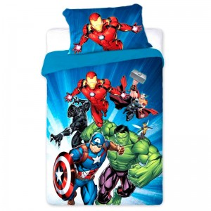Marvel Avengers duvet cover bed