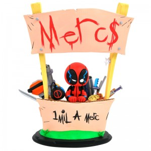 Marvel Animated Deadpool Merc For Hire statue 20cm