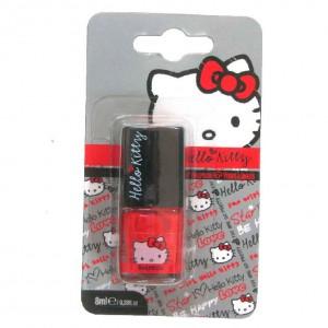 Pintauñas rojo Graffiti Hello Kitty