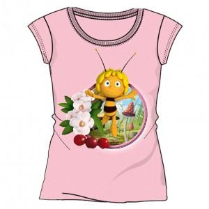 Camiseta Maya - La Abeja Maya rosa