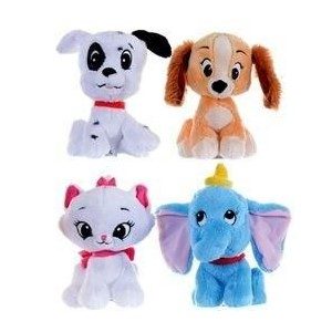 Disney Animal Tales assorted super soft plush toy 16cm