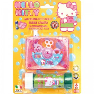 Hello Kitty bubble camera + bottle bubbles