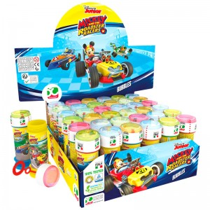 Disney Mickey and the Roadster Racers assorted bubbles