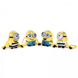 Minions soft plush shoulder bag