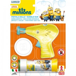 Minions bubble gun + bottle bubbles