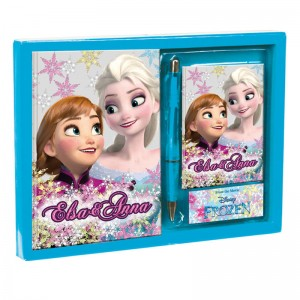 Set diary address Frozen Disney Soul